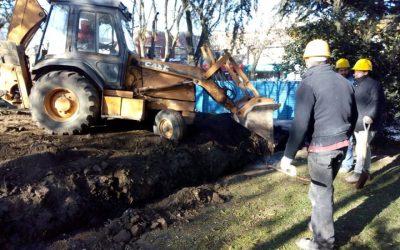 Continúan las obras públicas para la ciudad