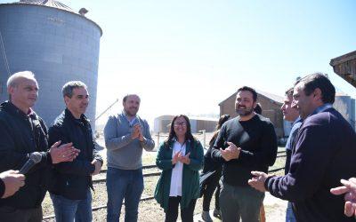 Junín – Retiro: Aiola junto a funcionarios de Trenes Argentinos