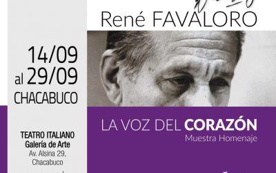 "Desde la Provincia: Muestra homenaje ""René Favaloro"""
