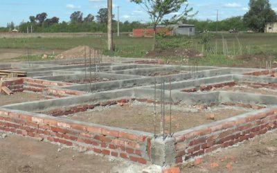 Avance de obra: construcción de viviendas