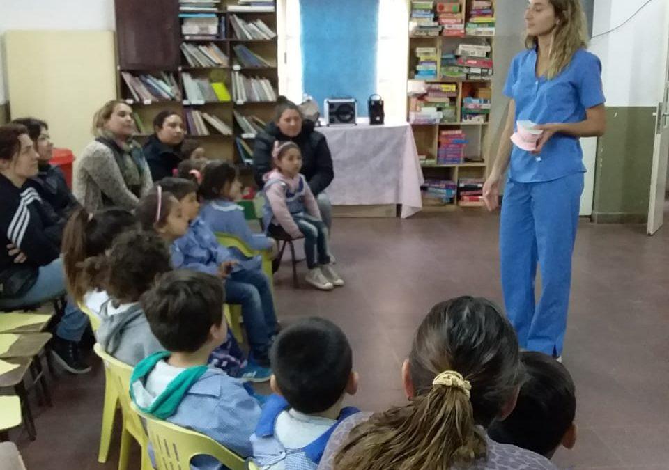 Educación y Salud: continúa el programa «Sonrisas Felices»
