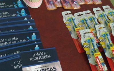 Continúa el programa municipal «Sonrisas Felices»