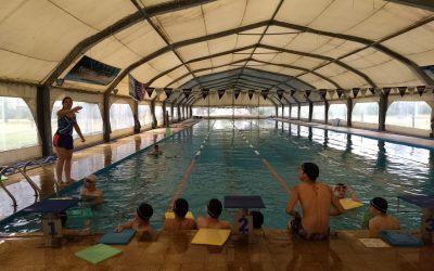 Prácticas acuáticas para alumnos de la Escuela Secundaria Nº 8