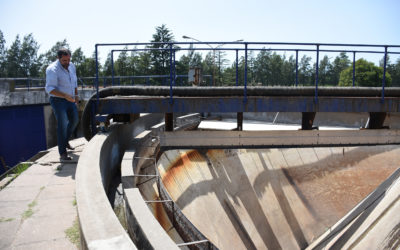 Obras y Servicios Públicos: limpieza de Pozo Imhoff