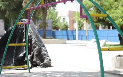 Plaza Necochea: últimos detalles