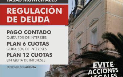 Recaudación: descuentos por pago anticipado anual de tasas municipales