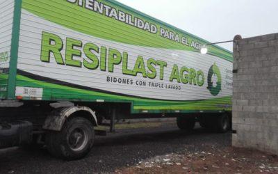Un nuevo retiro de bidones de fitosanitarios