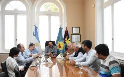 El intendente recibió al exdiputado nacional Federico Storani