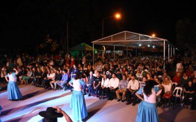 El intendente Aiola en la Fiesta Provincial de la Empanada