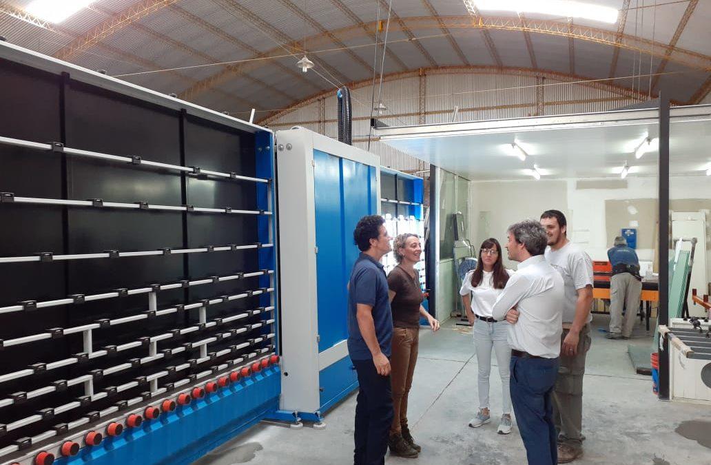 Producción visitó al sector industrial