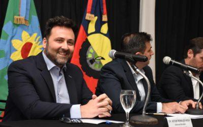 (APERTURA SESIONES ORDINARIAS 2020) El intendente Víctor Aiola pronunció su discurso de apertura