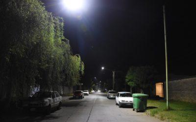 Obras de recambio de luminarias