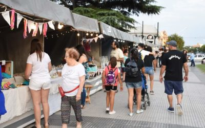 Feria Impulsar en la plaza San Martín