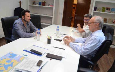 Aiola se reunió con el ministro de Salud de la Provincia de Buenos Aires, Daniel Gollán