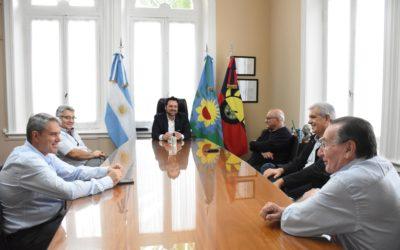Víctor Aiola se reunió con exintendentes de Chacabuco