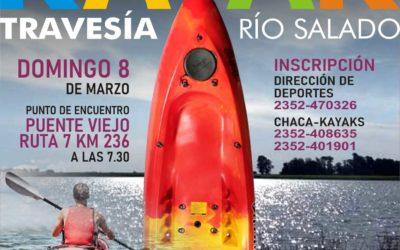 Kayak Travesía Río Salado
