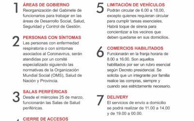 Nuevas medidas: a partir de hoy comienzan a regir horarios establecidos en nuestra ciudad