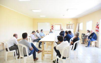 Reunión de Producción junto a empresas
