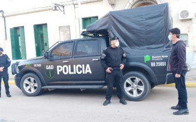 Seguridad: nuevo jefe del Grupo de Apoyo Departamental