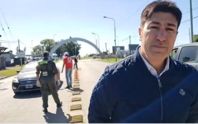Intensifican los controles en los accesos y barrios de nuestra ciudad