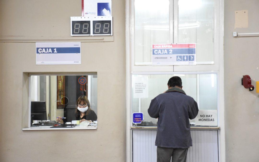 Recaudación: ya se pueden abonar tasas y derechos municipales