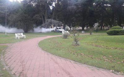 Fumigación en las localidades