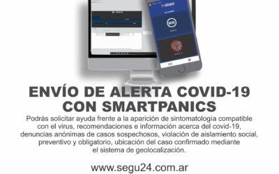 Alerta Covid19: Nueva aplicación incorporada al Botón Antipático