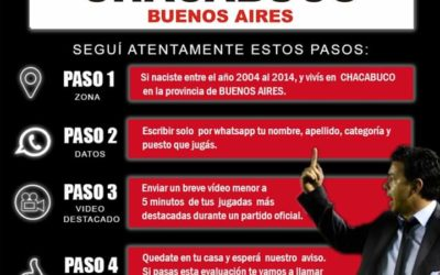 River Plate te mira por video