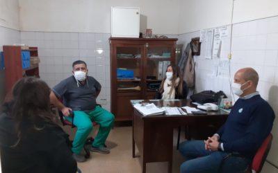 Salud: recorrida por las localidades