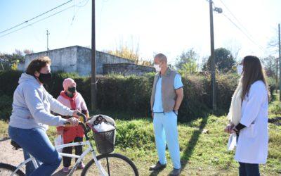 Recorrida de Salud por los barrios San Cayetano y Misioneros