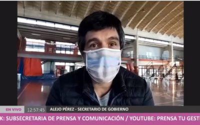 """Pérez: """"tenemos que cuidar todo lo que logramos"""""""
