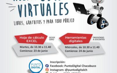 Nuevos cursos virtuales en Punto Digital