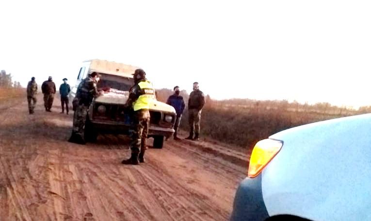 Patrulla Rural secuestró marihuana