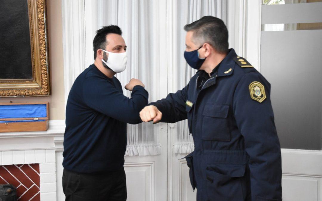 Asumió el nuevo Jefe de la Policía Comunal