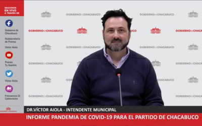 Covid-19: Chacabuco entró «en fase cinco adaptada»