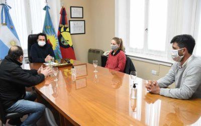 Reunión con los nuevos consejeros municipales en la Cooperativa Eléctrica