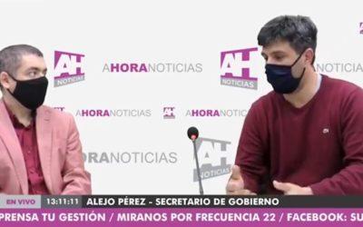 """Pérez: """"estamos en una situación muy compleja y particular"""""""