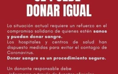 No esperes que sea necesario para donar sangre