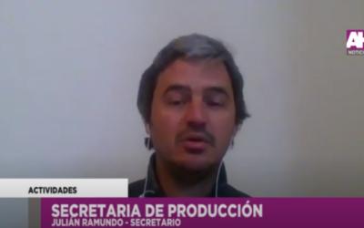 Producción y el trabajo con los sectores de la economía