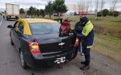 Operativos de Policía Vial en Ruta Nacional 7