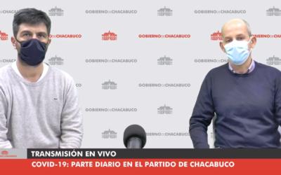 Salud: nuevo caso de covid-19 en el partido de Chacabuco