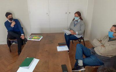 Reunión con Comisión de Interpretación – Proyecto: Creación de la Escuela Municipal de Conductores