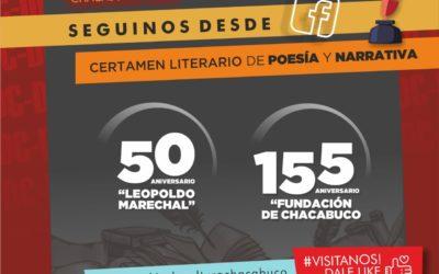 Certamen literario: continúa abierta la inscripción