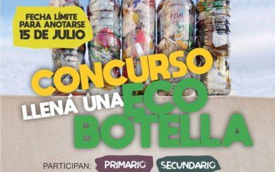 Concurso «Ecobotella»: últimos días de inscripción