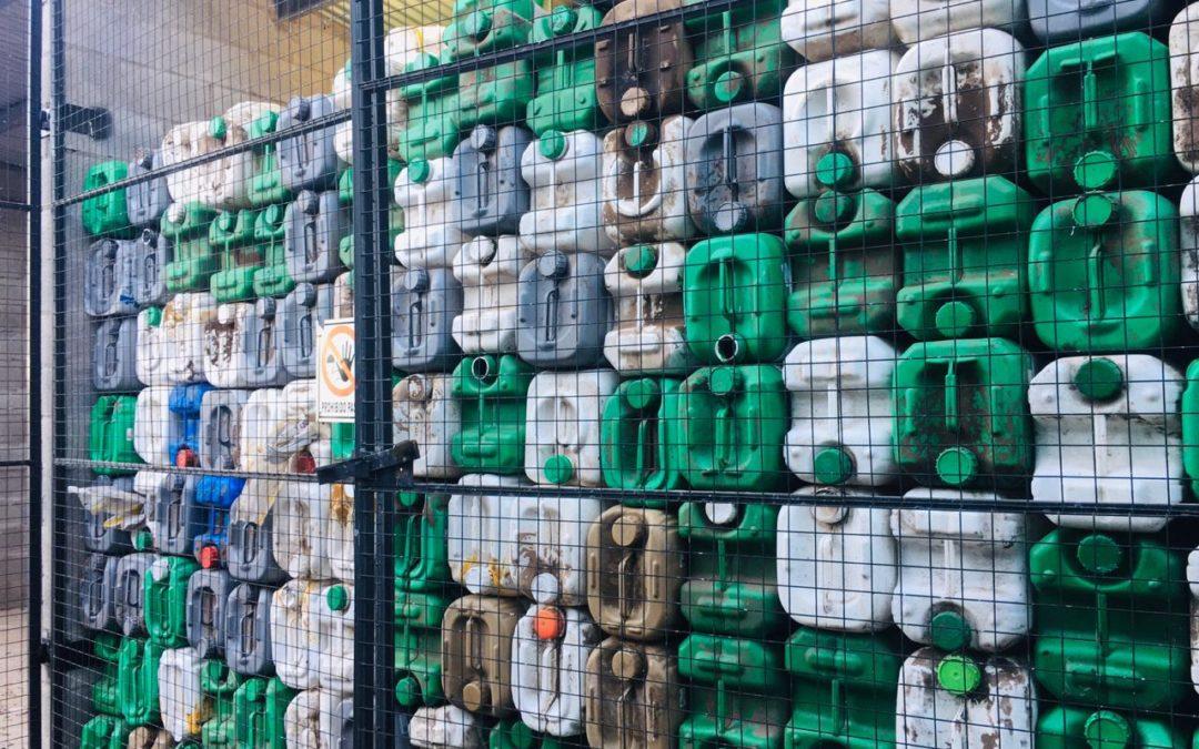 Fueron retirados 5.000 envases de fitosanitarios del CAT
