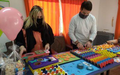 Centro de Día: juegos reciclables para estimular la motricidad y el ingenio