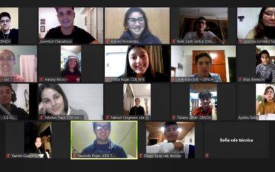 Juventud: primera reunión del Consejo de Estudiantes secundarios