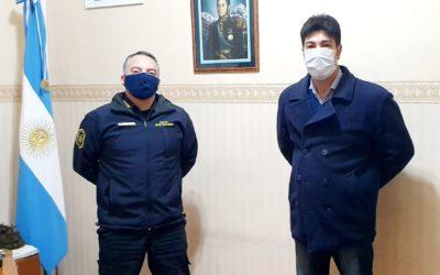 Seguridad: Loyola se reunió con el director de la DDI