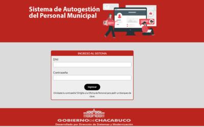 Sistema de autogestión del personal municipal