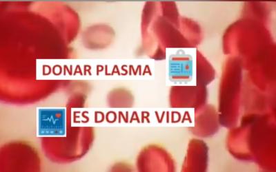 Si tuviste coronavirus, doná plasma